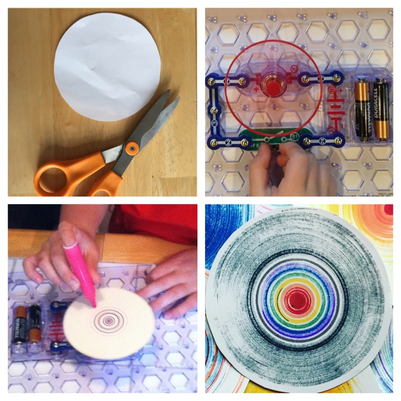 How To Make Spin Art Paint