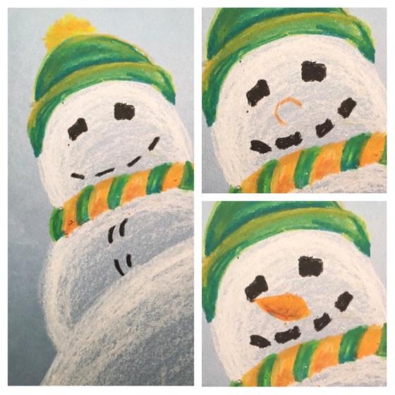 snowman-features