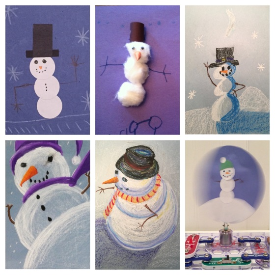 Snowman Progression Preview